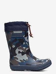 "Bisgaard - RUBBER BOOT - ""WINTER THERMO"" - gummistiefel - camouflage-blue - 1"