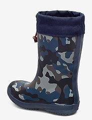 "Bisgaard - RUBBER BOOT - ""WINTER THERMO"" - gummistiefel - camouflage-blue - 2"