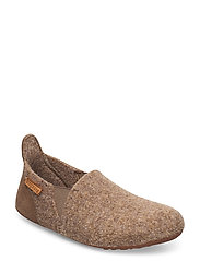 "HOME SHOE - ""WOOL SAILOR"" - CAMEL"