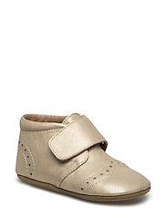 "HOME SHOE - ""PETIT"" - GOLD"