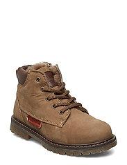 Shoe with lace - NOUGAT