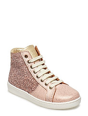 Shoe with laces - BLUSH