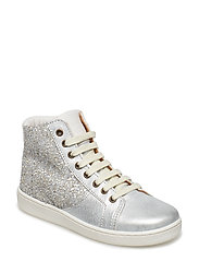 Shoe with laces - SILVER