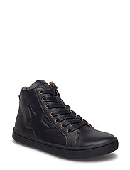 Shoe with laces - BLACK