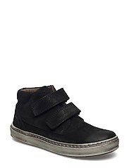 Velcro shoes - BLACK