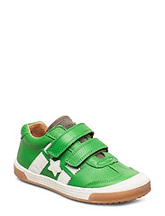 shoes with Velcro - GREEN