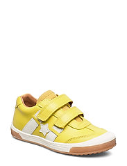 shoes with Velcro - YELLOW