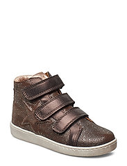 Velcro shoes - BROWN