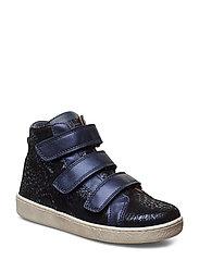 Velcro shoes - NAVY SWIRL