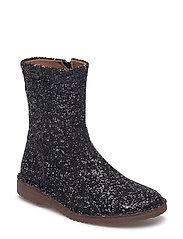 Boot - BLACK GLITTER