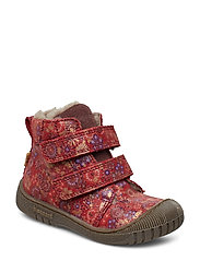 TEX boot - RED FLOWERS