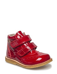 TEX boot - RED PATENT