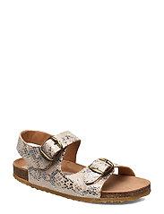 Sandals - SILVER SNAKE
