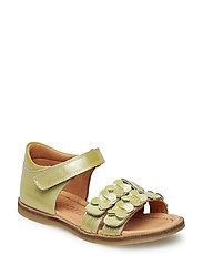 Sandal - YELLOW PATENT PATENT