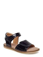 Sandal - NAVY PATENT