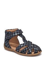 Sandals - BLUE DOTS