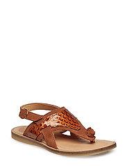 Sandal - COGNAC SUEDE