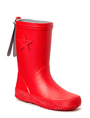 """RUBBER BOOT """"STAR"""" - 10 RED"""