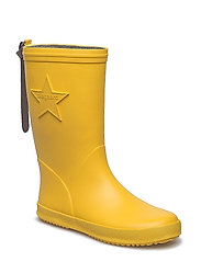 "RUBBER BOOT ""STAR"" - YELLOW"