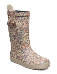 "RUBBER BOOT ""SCANDINAVIA"" - 168 BEIGE-FLOWERS"