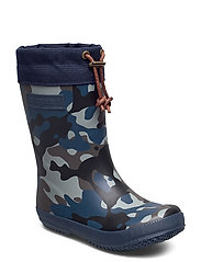 "RUBBER BOOT - ""WINTER THERMO"" - CAMOUFLAGE-BLUE"