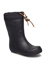 "RUBBER BOOT - ""WINTER THERMO"" - GLITTER-BLACK"