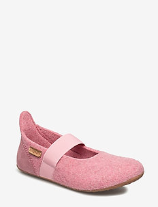 bisgaard ballet wool - ballerinaer og slip-ons - 91 rosa