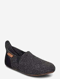 "HOME SHOE - ""WOOL SAILOR"" - hausschuhe - antrachite"