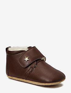 bisgaard warm baby star - instappers - 60 brown