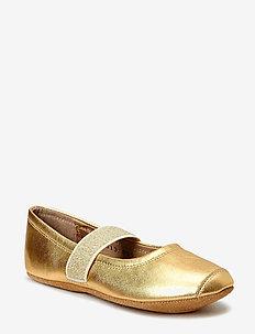 SLIPPERS BALLET - hausschuhe - 02 gold