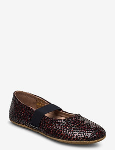 SLIPPERS BALLET - pantoufles - phyton red
