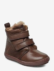 Prewalker - buty zimowe - brown