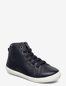 bisgaard tage - høje sneakers - navy