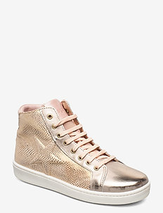 bisgaard gaia - høje sneakers - creme