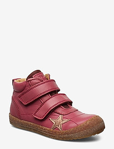 Velcro shoes - kozaki - pink
