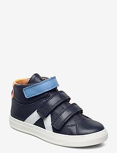 bisgaard phillis - høje sneakers - navy