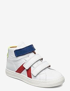 bisgaard phillis - høje sneakers - white