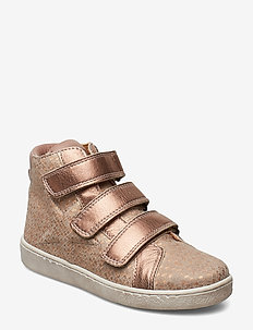 Velcro shoes - NUDE SQUARE