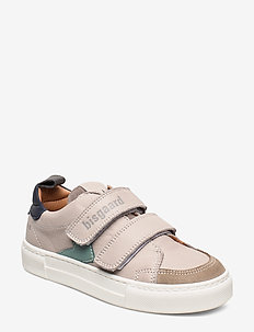 shoes with Velcro - sneakers - stone