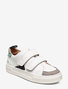 shoes with Velcro - tenisówki - white/mint