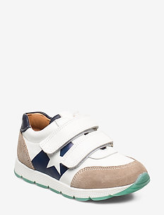 shoes with Velcro - tenisówki - white/navy