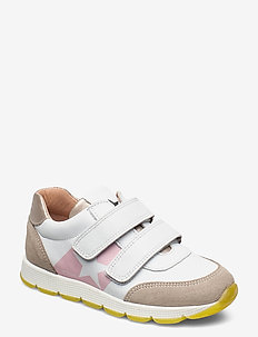 bisgaard liam - lave sneakers - white/silver
