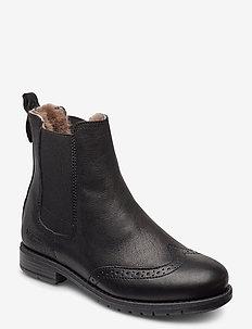 bisgaard mai - vinterstøvler - black