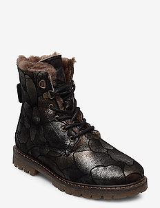 Boot - bottes d'hiver - black flower