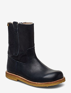 TEX boot - boots - navy