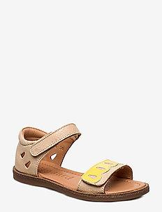 Sandals - sandals - creme snake