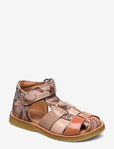 Sandals - sandals - rose flower