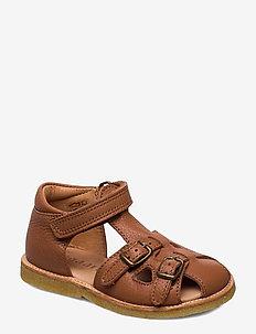 Sandals - sandals - cognac