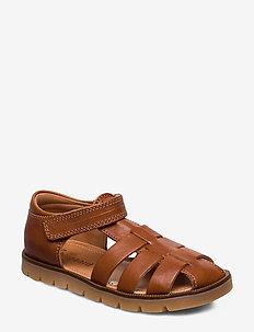 bisgaard beka - sandals - cognac