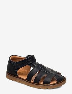 bisgaard beka - sandals - navy